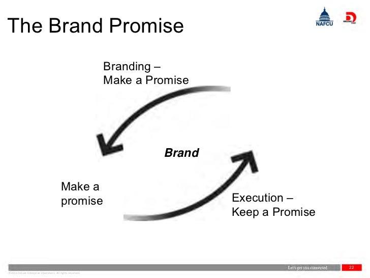 The Brand Promise                                                           Branding –                                    ...