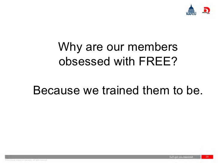 Why are our members                                                           obsessed with FREE?                         ...
