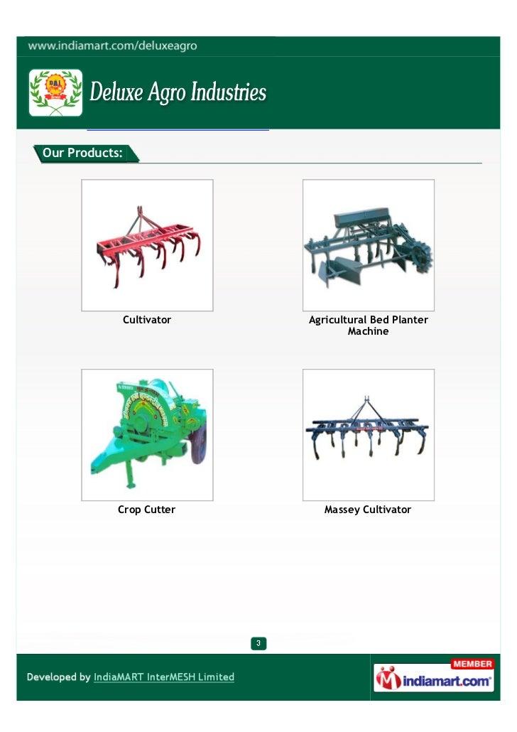 Deluxe Agro Industries, Jaipur, Cultivator Slide 3