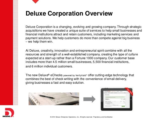 Deluxe corp small business owner views on payment options