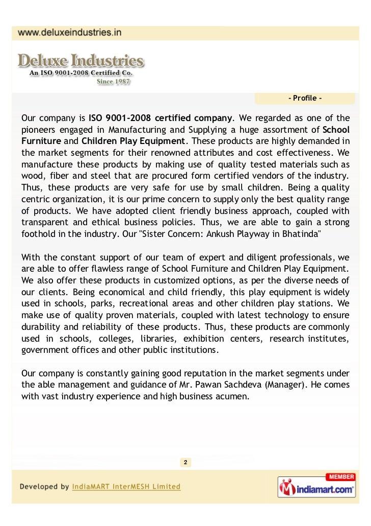 Deluxe Industries, Mohali, Children Play Equipment Slide 2