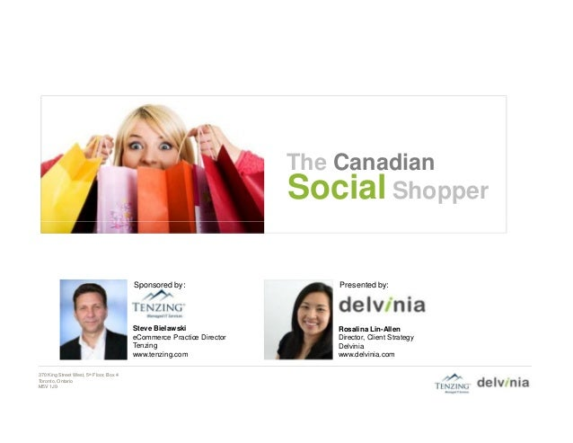 The Canadian                                                                       Social Shopper                         ...