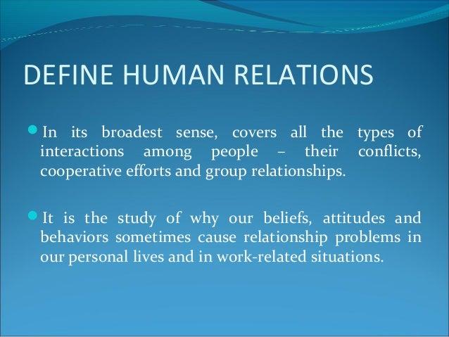 Dem 735 – fundamentals of human relations