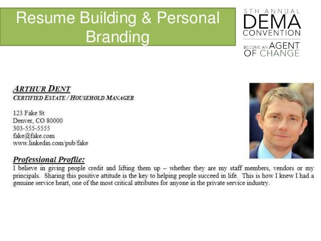 resume building personal branding - Resume Building Services