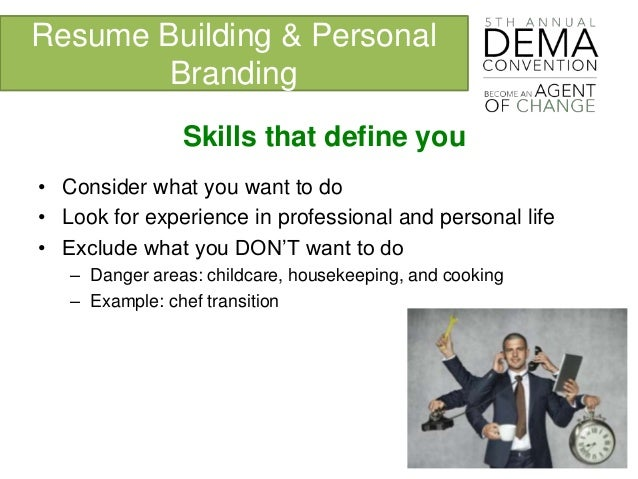 resume cooking skills