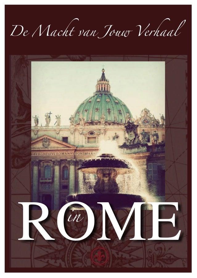 De Macht van Jouw Verhaal ROME   in