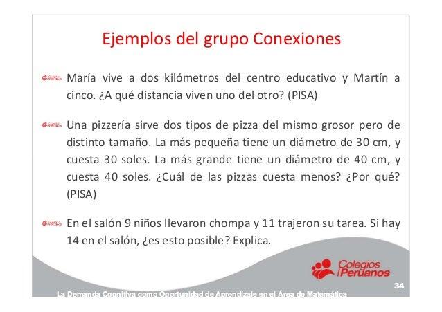 Ejemplos del grupo Conexiones María vive a dos kilómetros del centro educativo y Martín a cinco. ¿A qué distancia viven un...