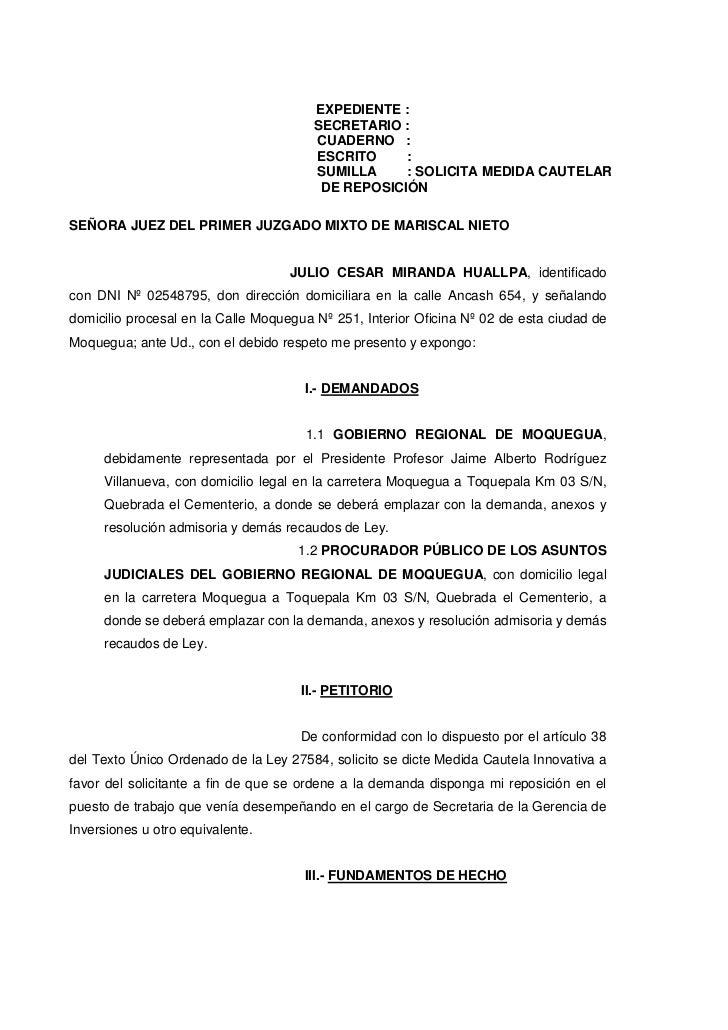 Modelo Cautelar De Exibição De Documentos Artigo November
