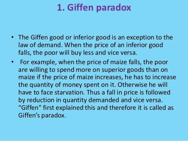 Giffen goods in economics, examples with graphs freeeconhelp. Com.