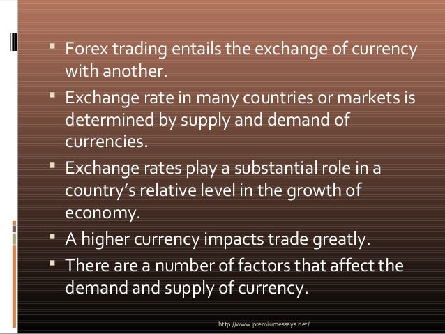 factors affecting supply and demand australian dollars The major factors affecting the the price of an exchange rate is determined by the forces of demand and supply market factors market factors may affect also.