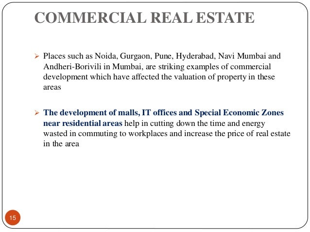 Demand and supply of real estate industry in