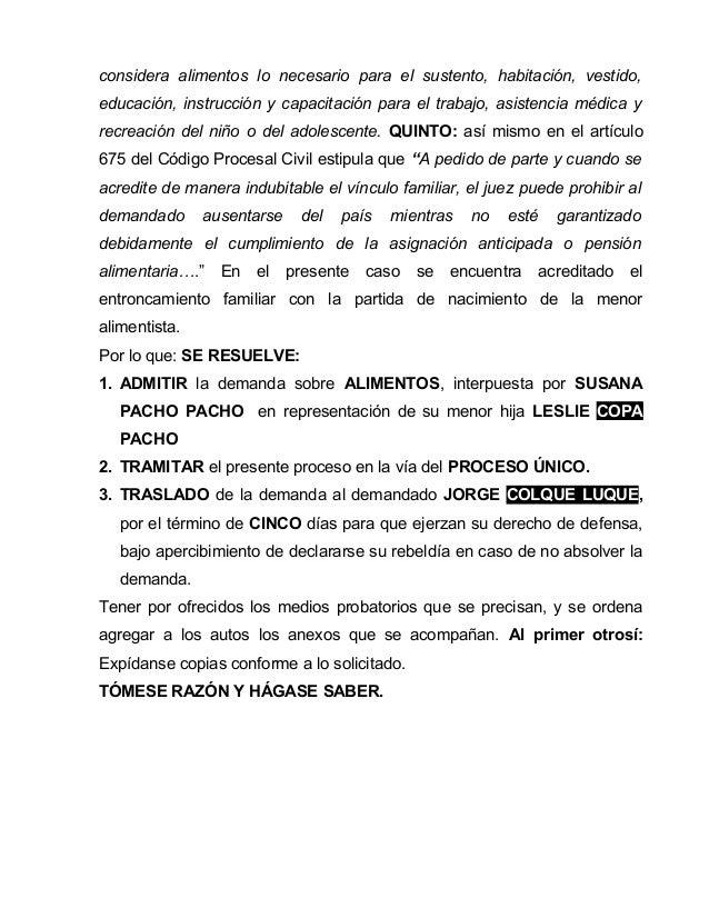 Demandas modelos peru for Libro cuarto del codigo civil