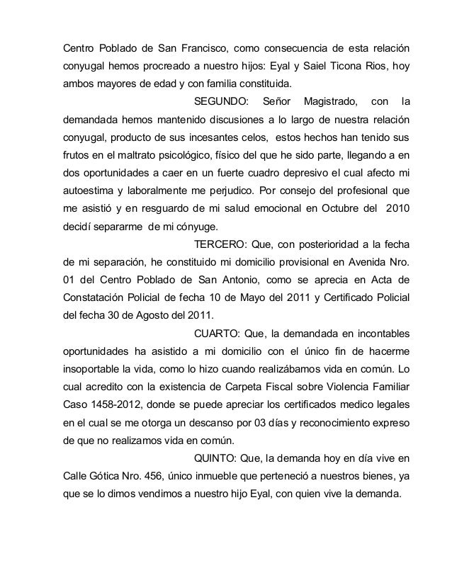 Demandas (MODELOS) PERU  Slide 3