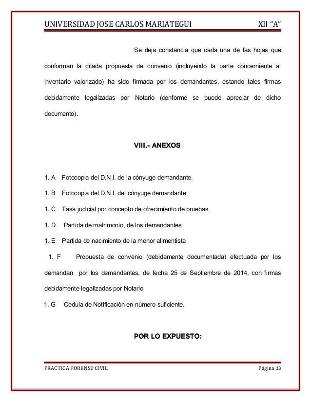 """UNIVERSIDAD JOSE CARLOS MARIATEGUI XII """"A""""  Se deja constancia que cada una de las hojas que  conforman la citada propuest..."""