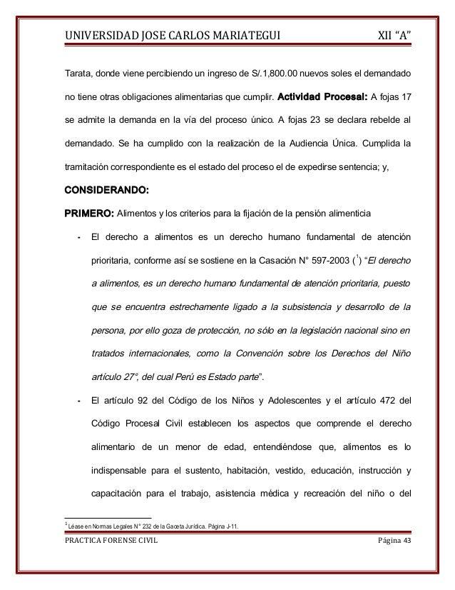 """UNIVERSIDAD JOSE CARLOS MARIATEGUI XII """"A""""  Tarata, donde viene percibiendo un ingreso de S/.1,800.00 nuevos soles el dema..."""