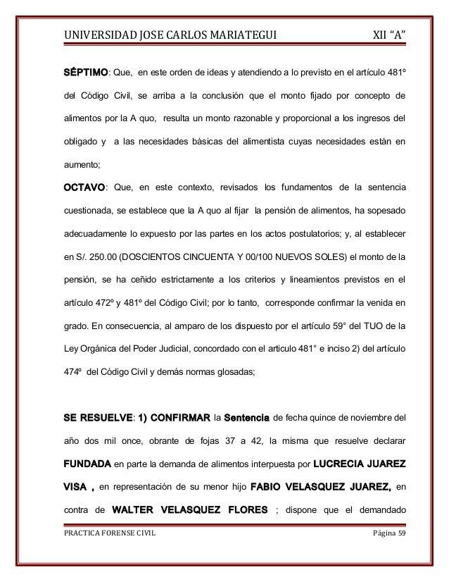 """UNIVERSIDAD JOSE CARLOS MARIATEGUI XII """"A""""  SÉPTIMO: Que, en este orden de ideas y atendiendo a lo previsto en el artículo..."""