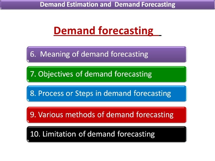 demand estimation and forecasting Factors in a linear fashion we provide an estimation for energy demand and forecasting we will use the auto regressive distribute lag (ardl) specification.