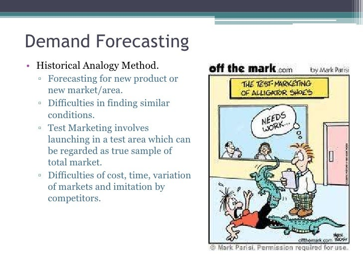 """demand estimation and forceasting Some of the popular definitions of demand forecasting are as follows: according to evan j douglas, """"demand estimation (forecasting) may be defined as a process of finding values for demand in future time periods""""."""