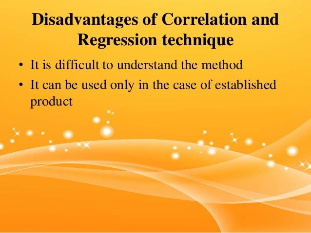 advantages and disadvantages of regression analysis What are the advantages & disadvantages of high-low method accounting by john freedman however, the high-low method comes with both advantages and disadvantages least-squares regression uses statistics to mathematically optimize the cost estimate.