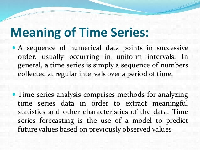 time series analysis It makes analysis and visualisation of 1d data, especially time series, much faster before pandas working with time series in python was a pain for me, now it's fun ease of use stimulate in-depth exploration of the data: why wouldn't you make some additional analysis if it's just one line of code.