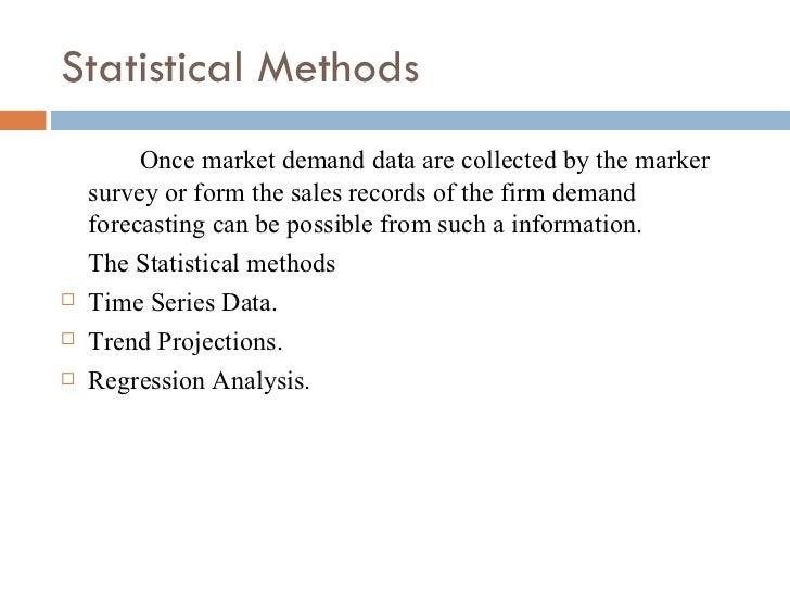 Demand forecasting methods ppt bec bagalkot mba