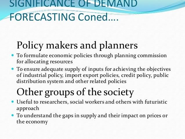 importance of demand analysis