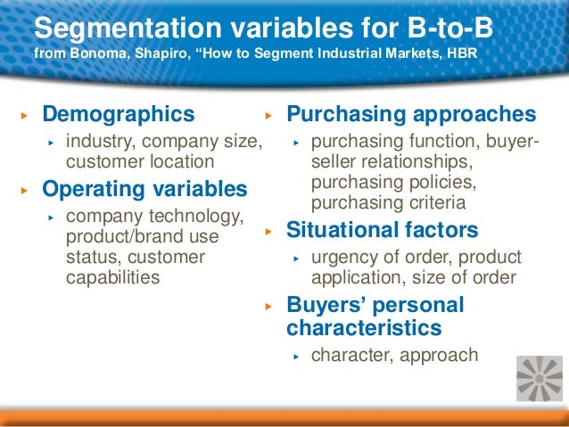 segmentation variables airline industry You must be able to identify segmentation variables that are related to purchase  of the product and develop a descriptive profile of the market segment using a.