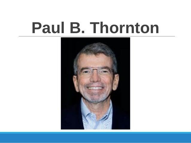 Paul B. Thornton