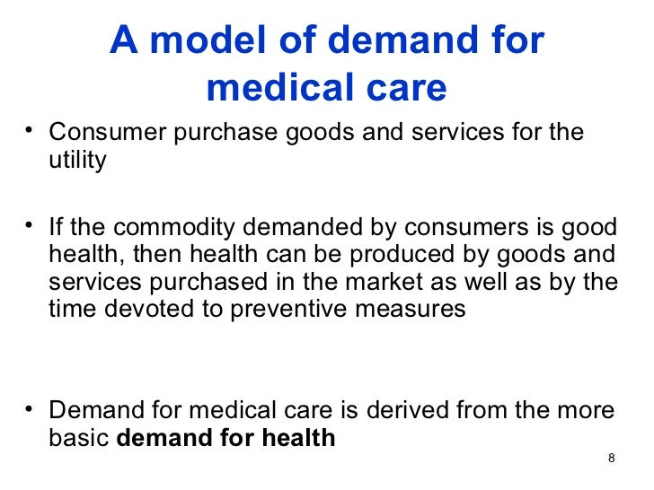 health care demands in canada Health care as a share of gdp: canada's health care system is primarily meeting health demands will be an ongoing challenge.