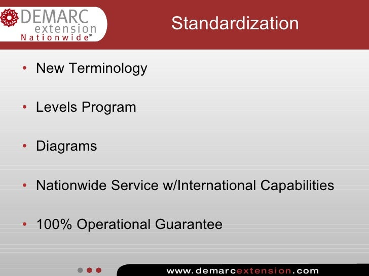 loss of standardization
