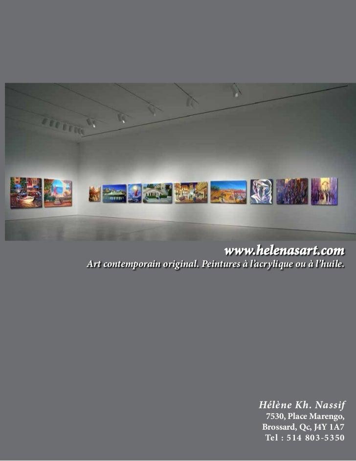 www.helenasart.comArt contemporain original. Peintures à l'acrylique ou à l'huile.                                        ...