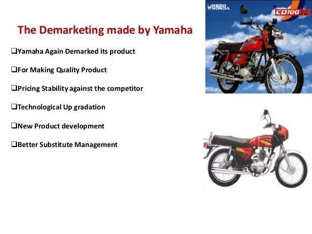 Marketing Mix Of Yamaha Bikes