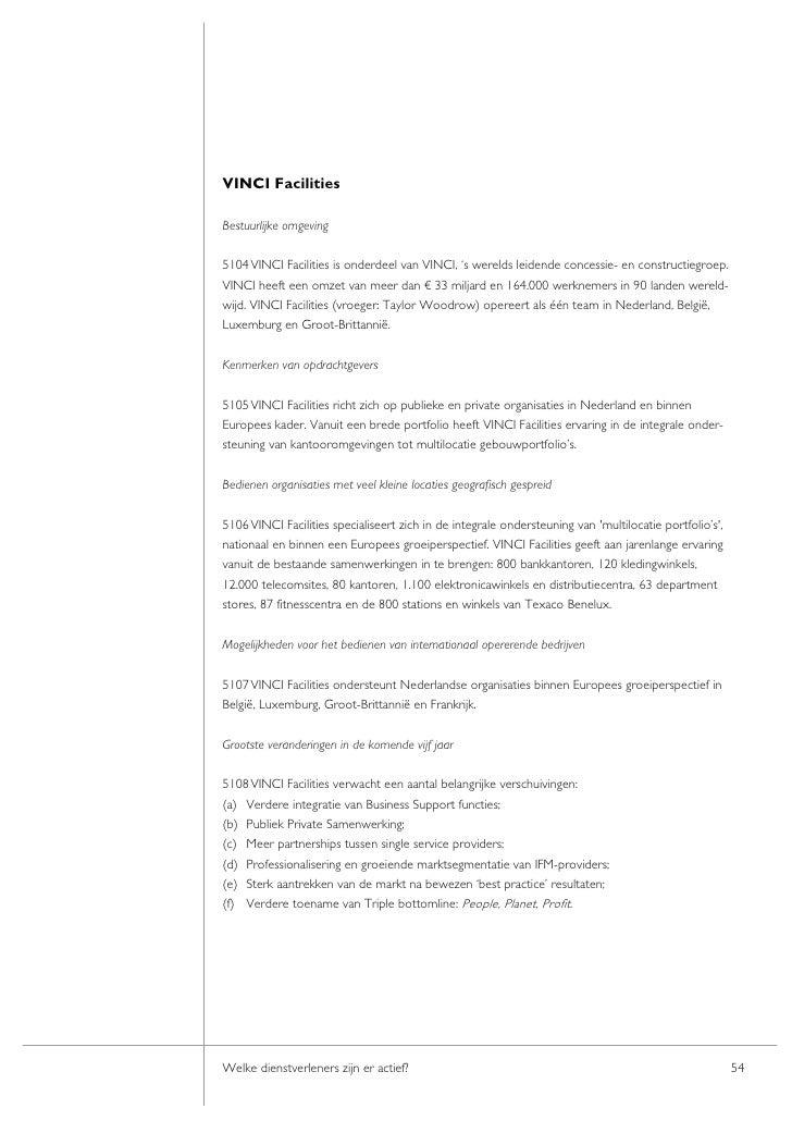 De markt van Integraal Facility Management in beeld gebracht