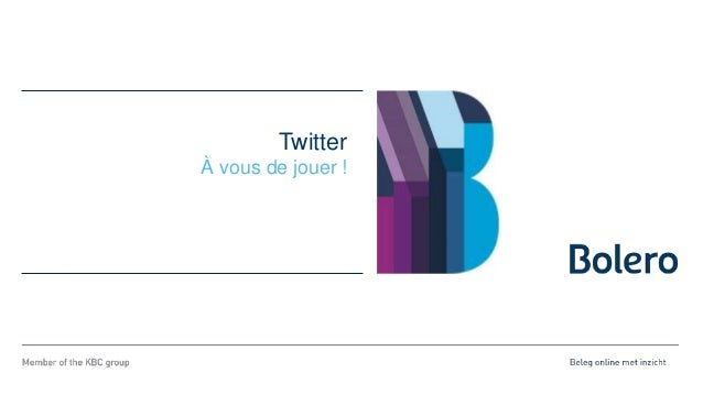 Twitter À vous de jouer !