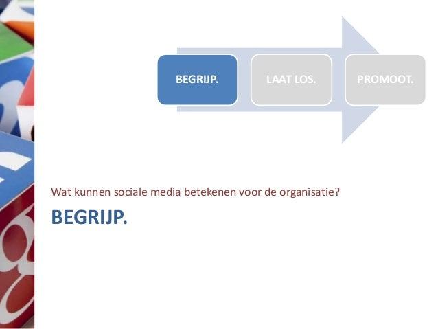 Sociale media wijsheid voor leidinggevenden Slide 3