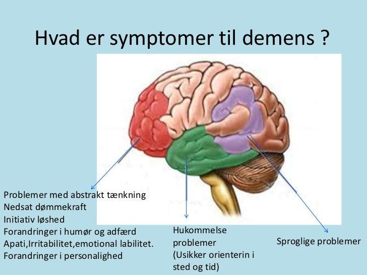 demens behandling