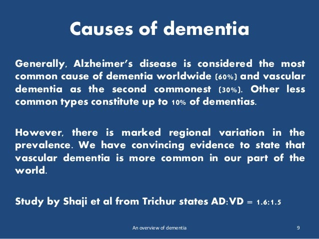 most common dementia alzheimers disease essay There are over 100 types of dementia but i have listed the most common alzheimer's disease dementia /alzheimers disease essay alzheimer s disease memo.