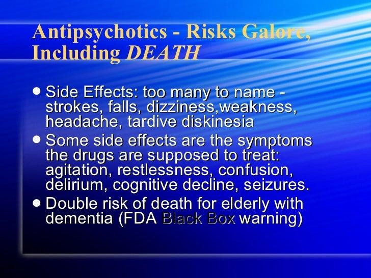 Detrol Side Effects Dementia