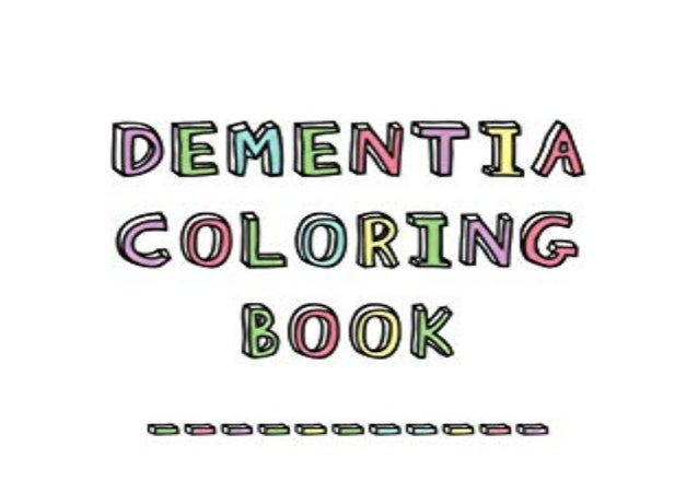 Detail Book Title : Dementia Coloring Book Anti Streb and memory lob coloring pad for the elderly Format : PDF,kindle,epub...