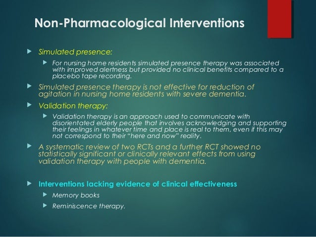 Nonpharmacological Interventions to Prevent Delirium: An Evidence-Based Systematic Review