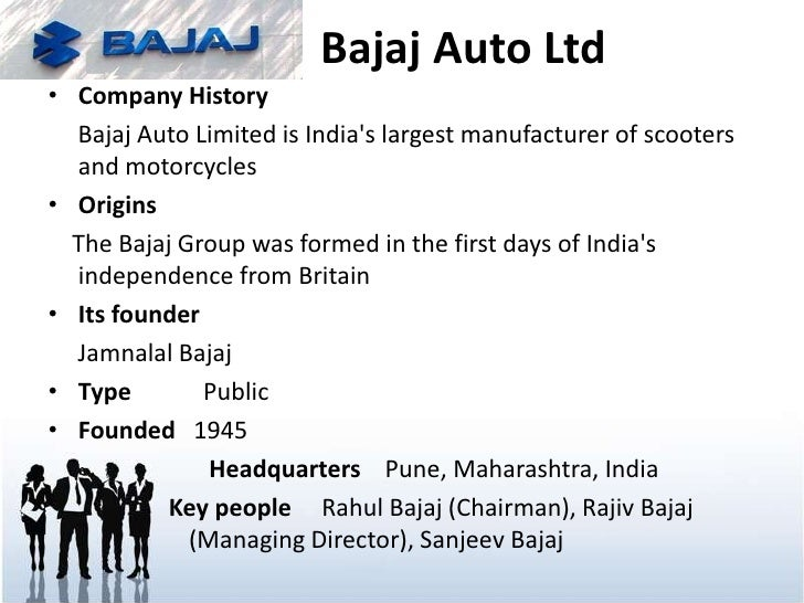 bajaj demerger Miscellaneous- bajaj auto limited bajaj auto motorcycles is leading manufactures in india for more detail visit our official websites.