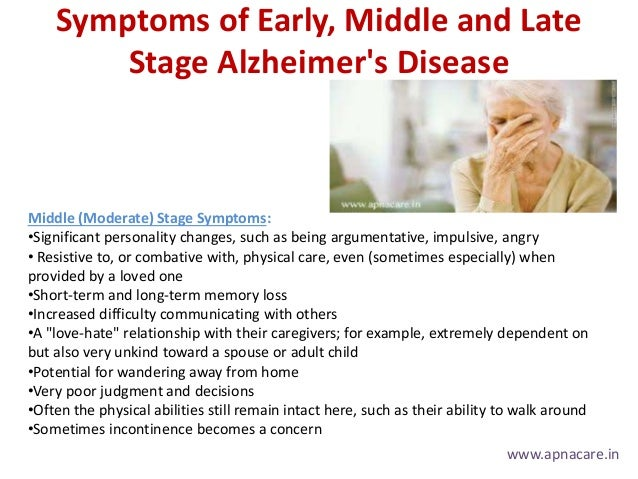 symptoms causes diagnosis and treatment of alzheimer disease Alzheimer's disease causes changes in memory and worry after a diagnosis of alzheimer's binswanger's disease symptoms, treatment, and prognosis.