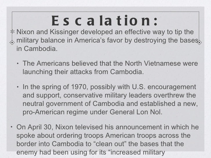 the effectiveness of nixons vietnamization policy Laird's vietnamization program- the policy of improving south vietnamese military capabilities while withdrawing american troops- became the centerpiece of president richard nixon's strategy to end the american war in vietnam.