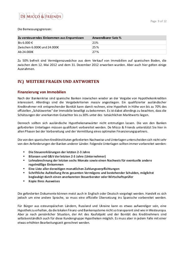 9 - Vorvertrag Immobilienkauf Muster