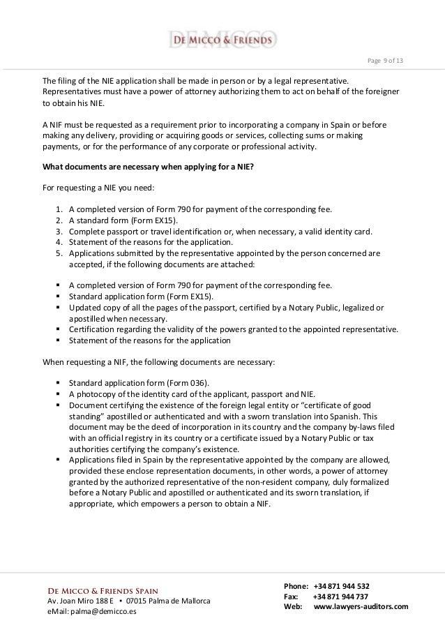 New Regulations 2015 Immigration To Spain Golden Visa Program Com