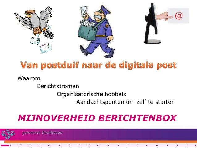 De mijn overheid berichtenbox (Operatie NUP congres 2013)