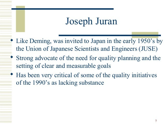 juran s 10 steps to quality improvement Juran on quality, juran institute in wilton juran's approach to quality may be the closest to deming's of all the gurus juran proposed 10 steps for quality improvement armand feigenbaum cost of nonconformance ge top expert on quality at 24.