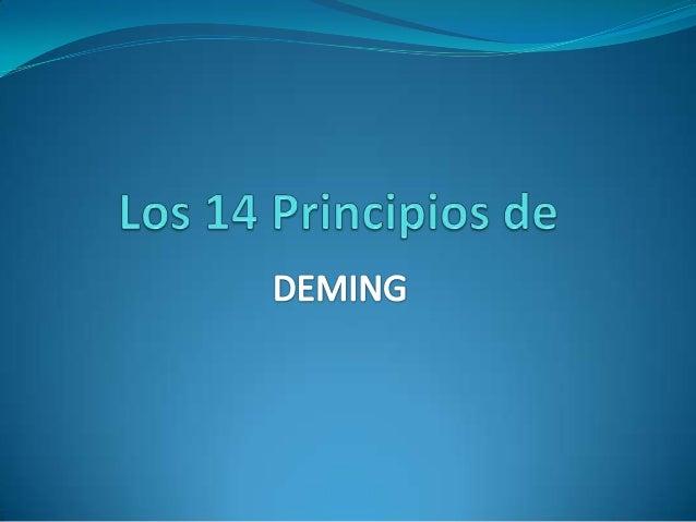 Gestión de                SERCalidad de                                         Sistema DEMING              De transformac...
