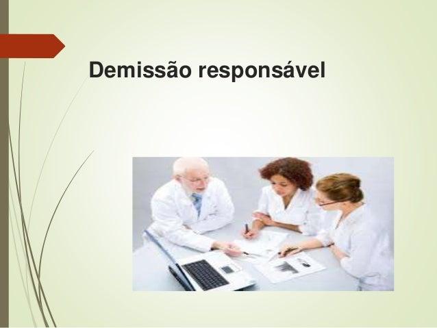 Demissão responsável