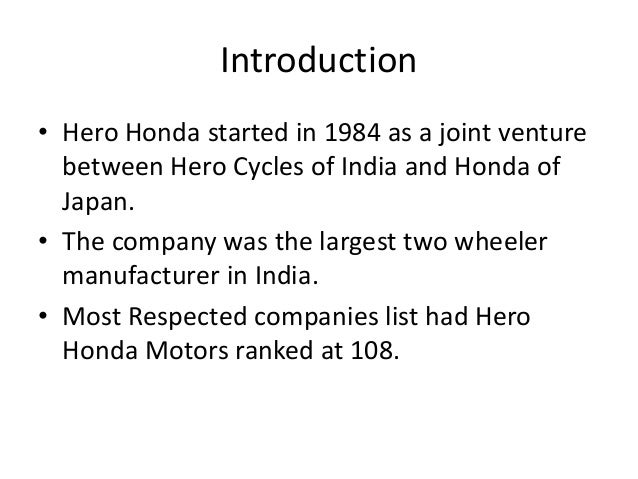 hero honda split After the split the munjal family will buy honda motor's 26% stake for around $1 billion, or a little less than half the current value of the stake in the stock market.